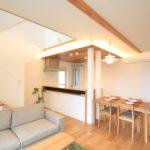 栃木県上三川の耐震住宅施工事例H邸のリビング
