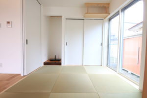 栃木県上三川の耐震住宅施工事例H邸の和室