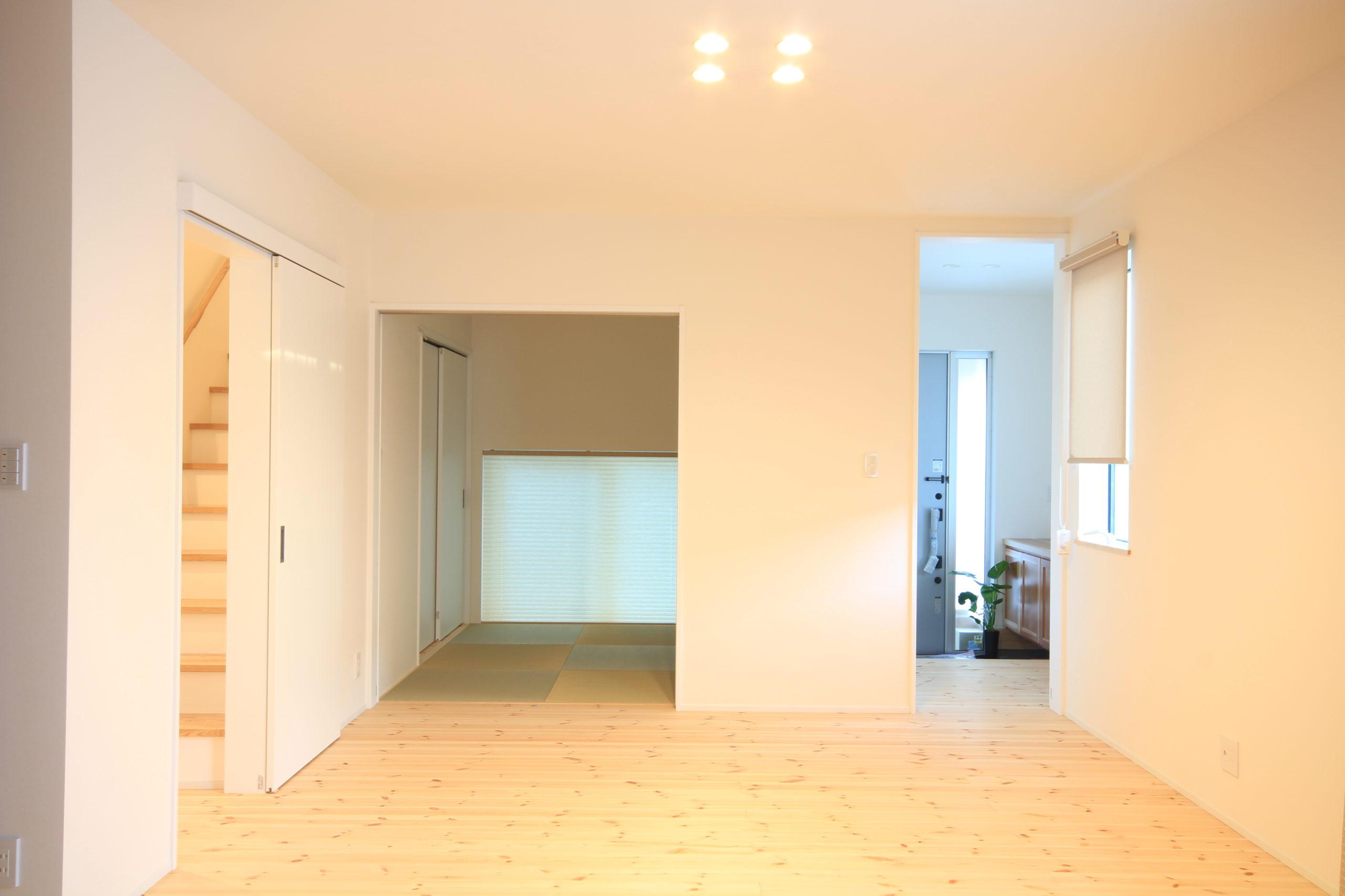 栃木県上三川の耐震住宅施工事例K邸のダイニング