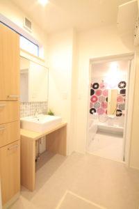 栃木県上三川の耐震住宅施工事例K邸の浴室