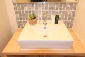 栃木県上三川の耐震住宅施工事例K邸の洗面台