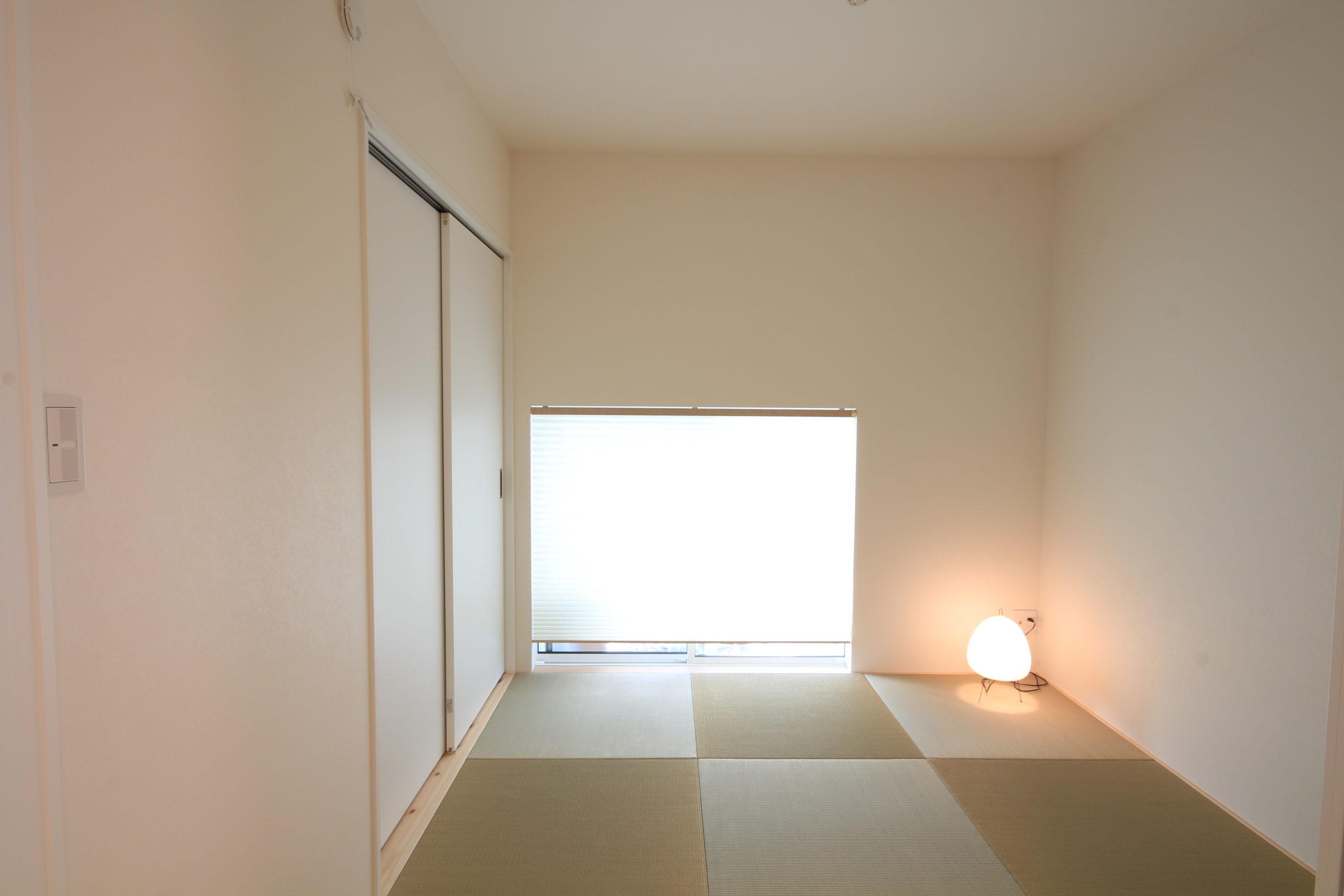 栃木県上三川の耐震住宅施工事例K邸の和室