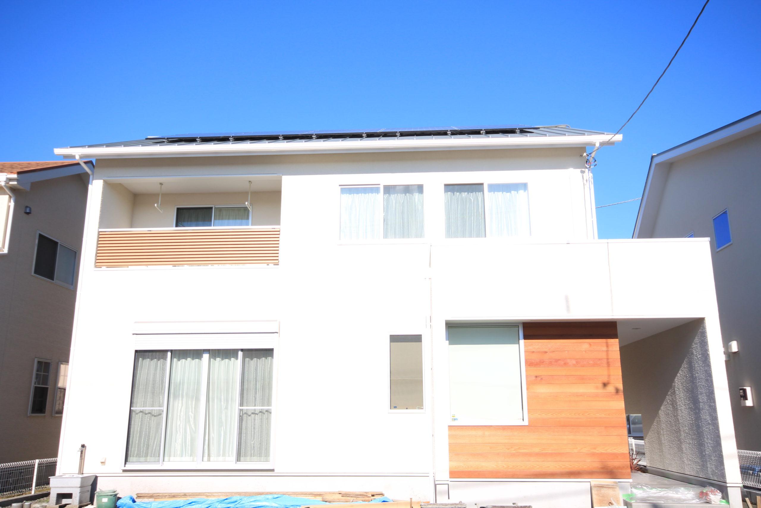 栃木県上三川の耐震住宅施工事例K邸の外観