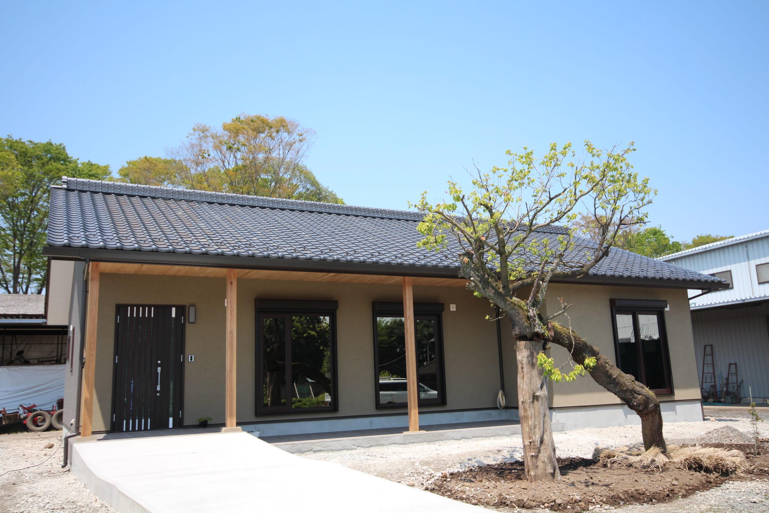 栃木県上三川の耐震住宅施工事例M邸の外観